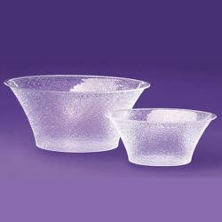 Cal-Mil - 403-15-34 - 15 in Pebbled Acrylic Bell Bowl image