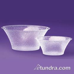 "Cal-Mil - 403-18-34 - 18"" Pebbled Acrylic Bell Bowl image"