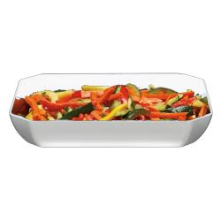 Cambro - SFG1012148 - ShowFest® 3 Qt White Octagonal Dish image