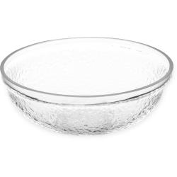 Carlisle - SB6607 - 1/2 qt Clear Acrylic Serving Bowl image
