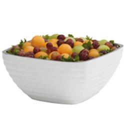 Vollrath - 4763750 - 8.2 qt Pearl White Serving Bowl image