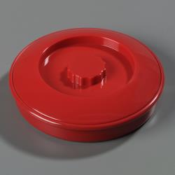 Carlisle - 047505 - 7 1/4 in Red Tortilla Server with Lid image