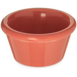 Carlisle - 085252 - 2 oz Orange Smooth Ramekin image