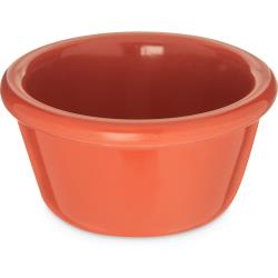 Carlisle - S28552 - 4 oz Orange Smooth Ramekin image