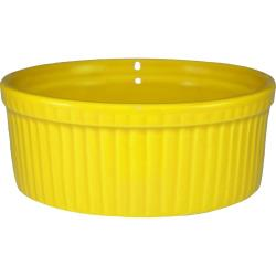 ITI - RAMF-10-Y - 8 oz Yellow fluted ramekin image