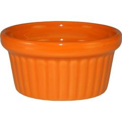 ITI - RAMF-2-O - 2 oz Orange fluted ramekin image