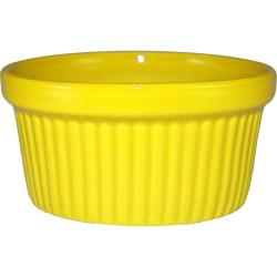 ITI - RAMF-4-Y - 4 oz Yellow fluted ramekin image