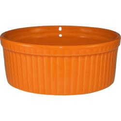 ITI - RAMF-8-O - 6 oz Orange fluted ramekin image