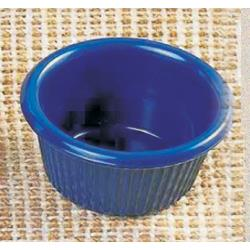 Thunder Group - ML507CB1 - 2 1/2 in - 1.5 oz Cobalt Blue Fluted Ramekin image