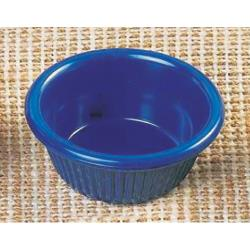 Thunder Group - ML509CB1 - 2 7/8 in - 2 oz Cobalt Blue Fluted Ramekin image