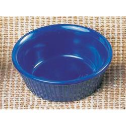 Thunder Group - ML532CB1 - 3 3/8 in - 4 oz Cobalt Blue Fluted Ramekin image