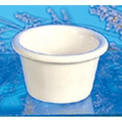 "Thunder Group - ML535B - 2 1/2""- 2 oz. Bone Smooth Ramekin  image"