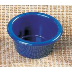 Thunder Group - ML535CB1 - 2 1/2 in - 2 oz Cobalt Blue Smooth Ramekin image