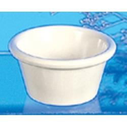 "Thunder Group - ML536B - 2 7/8""- 2 oz. Bone Smooth Ramekin  image"