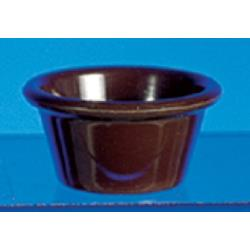 Thunder Group - ML536C1 - 2 7/8 in - 2 oz. Chocolate Smooth Ramekin image