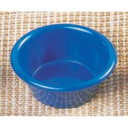 "Thunder Group - ML536CB - 2 7/8""- 2 oz. Cobalt Blue Smooth Ramekin  image"