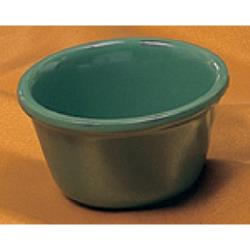 "Thunder Group - ML536GR - 2 7/8"" 2 oz. Green Smooth Ramekin   image"
