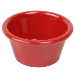 Thunder Group - ML536PR1 - 2 oz Pure Red Smooth Ramekin image