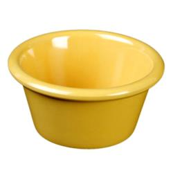 "Thunder Group - ML536YW - 2 7/8"" 2 oz. Yellow Smooth Ramekin image"