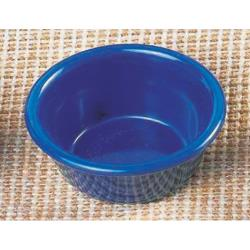 "Thunder Group - ML537CB - 3 1/4""- 3 oz. Cobalt Blue Smooth Ramekin  image"