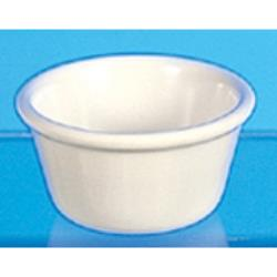 "Thunder Group - ML538B - 3 3/8""- 4 oz. Bone Smooth Ramekin  image"