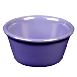 "Thunder Group - ML538BU - 3 3/8""- 4 oz. Blue Smooth Ramekin image"