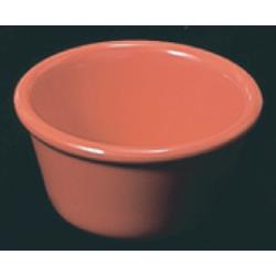 Thunder Group - ML538RD1 - 3 3/8 in - 4 oz Red-Orange Smooth Ramekin image