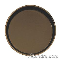 Cambro - 1100CT - Camtread 11 in Round Tan Serving Tray image