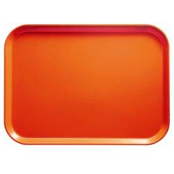 Cambro - 1418222 - 14 in x 18 in Orange Pizazz Camtray® image