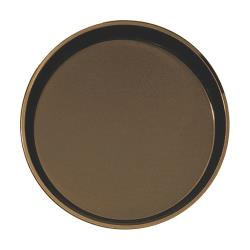 Cambro - 1800CT - Camtread 18 in Round Tan Serving Tray image