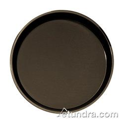 Cambro - PT1100167 - Polytread 11 in Round Brown Serving Tray image