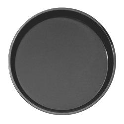 Cambro - PT1400 - Polytread 14 in Round Black Serving Tray image