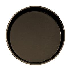 Cambro - PT1400 - Polytread 14 in Round Brown Serving Tray image
