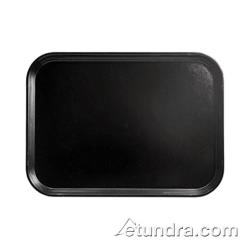 Cambro - PT1418 - Polytread 14 in x 18 in Black Serving Tray image
