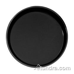 Cambro - PT1600110 - 16 in Round Black Polytread® Serving Tray image
