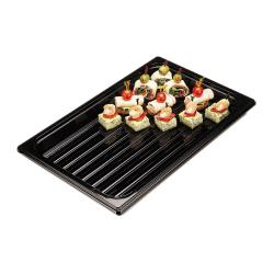 Cambro - DT1220CW110 - 20 in x 12 in Camwear® Black Display Tray image