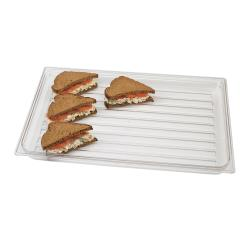 Cambro - DT1220CW135 - 20 in x 12 in Clear Camwear® Display Tray image