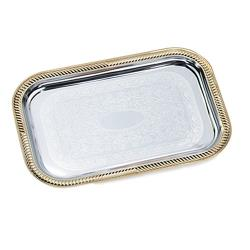 Vollrath - 47266 - 19 1/2 in x 14 in Rectangular Serving Tray image