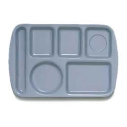GET Enterprises - TL-151-FB - 14 3/4 in x 9 1/2 in Franch Blue Cafeteria Tray image