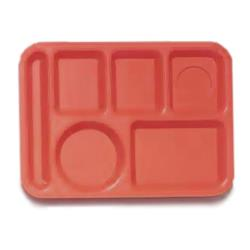GET Enterprises - TL-152-RO - 10 in x 14 in Rio Orange Cafeteria Tray image