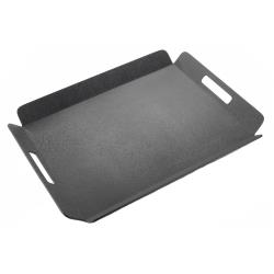 Cal-Mil - 958-1-13 - 22 1/2 in x 17 in Black Room Service Tray image