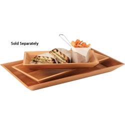 American Metalcraft - BAM18 - 18 in x 8 1/4 in Bamboo Tray image