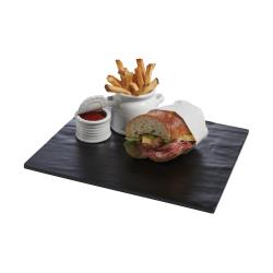 American Metalcraft - FSLT14 - 14 in Square Melamine Faux Slate image