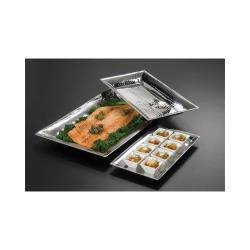 American Metalcraft - HMRT814 - 14 1/8 in x 7 3/8 in   Stainless Steel Tray image