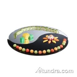 Cal-Mil - PT185 - 18 in Yin Yang Reversible Acrylic Mirror Tray Set image