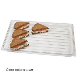 "Cambro - DT1220CW - Camwear® 12"" X 20"" Black Display Tray image"