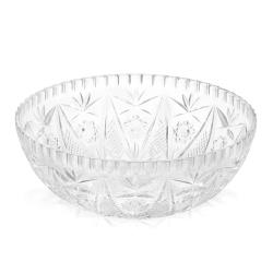Tablecraft - 900C - 11 in x 4 in Crystalware Serving Bowl image