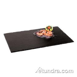 "World Cuisine - 41585-11 - 12 5/8"" x 20 7/8"" Slate Tray image"