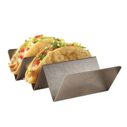 American Metalcraft - TSH3 - 2 or 3 Compartment Taco Holder image