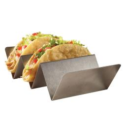 American Metalcraft - MTSH3 - 2 or 3 Compartment Mini Taco Holder image